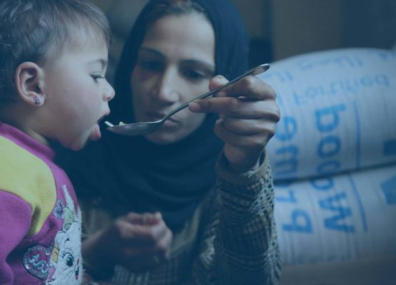Providing nutritious food for hungry children