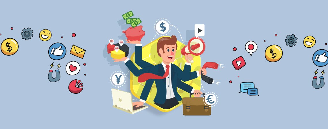 Illustration In Marketing Materials