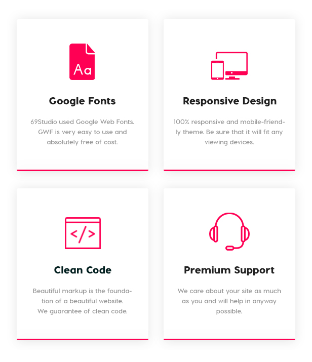 BUSINESS THEME  Download SixtyNineStudio – Creative Agency WordPress Theme nulled 7