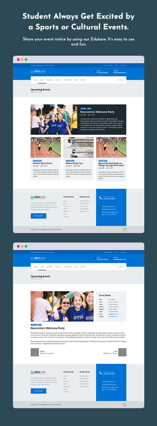 Edukare  Download Edukare – Education WordPress Theme nulled 11