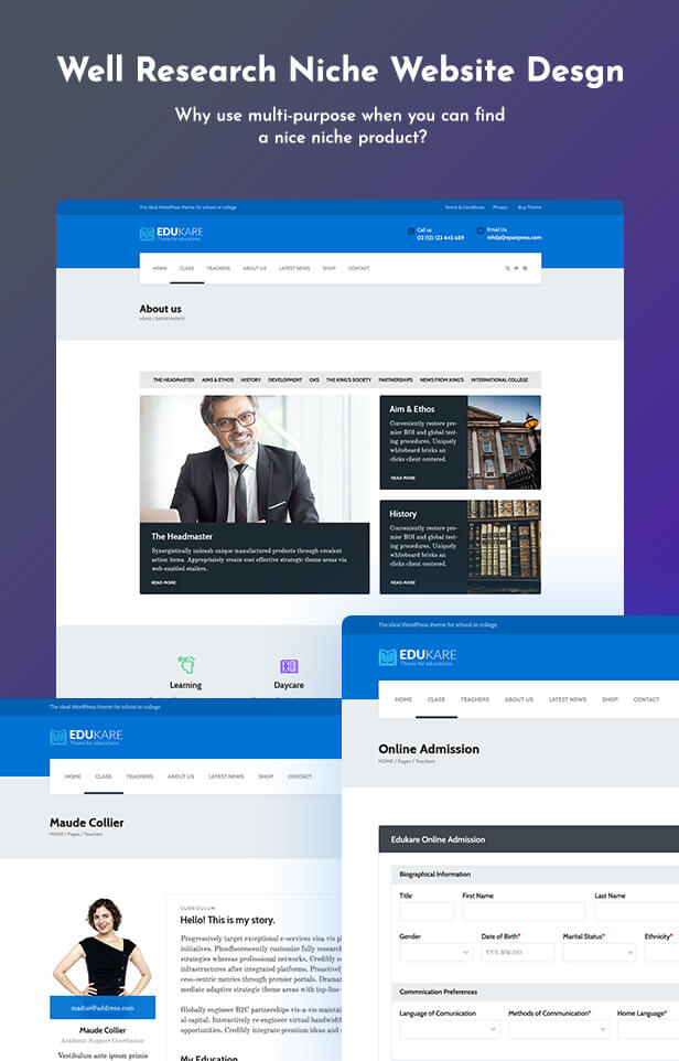 Edukare  Download Edukare – Education WordPress Theme nulled 5