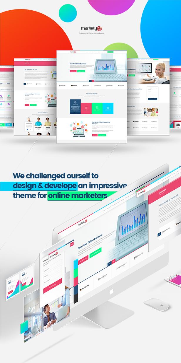 Download Markety – SEO & Digital Marketing WordPress Theme nulled 1