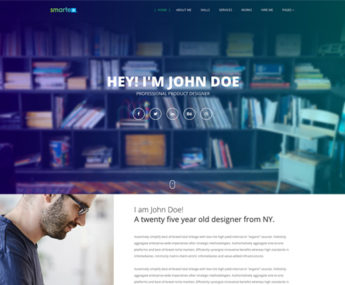 Smartex WordPress Portfolio Theme