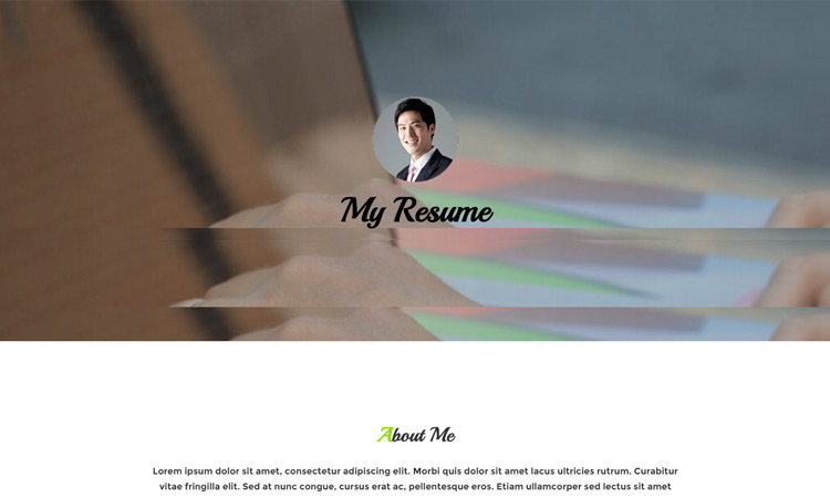 07-free-web-resume-template