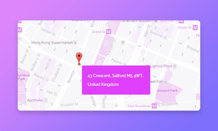 multi color google map