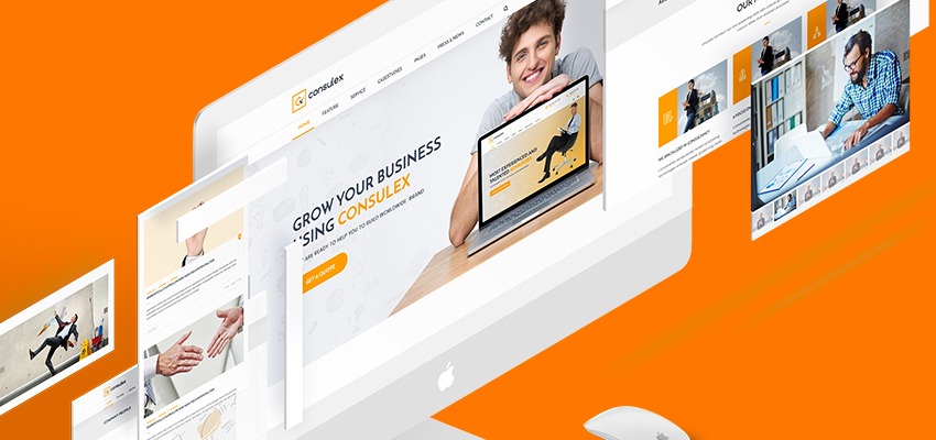 Consulex – Meet our new Finance and Consulting business WordPress themes