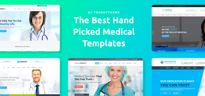10 Best New HTML5 Medical Templates in 2017