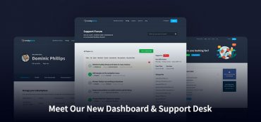Meet our new dashboard And support desk with a better user experience