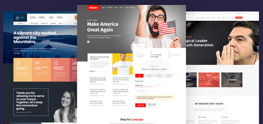 20+ Best Political WordPress Themes 2019