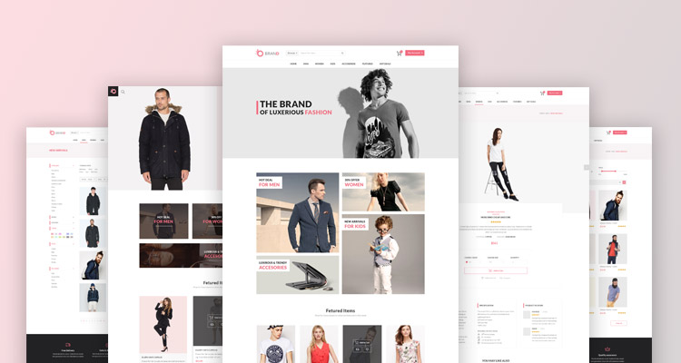 Brand fashion store template 2 trendy theme brandfashion store template 2 maxwellsz