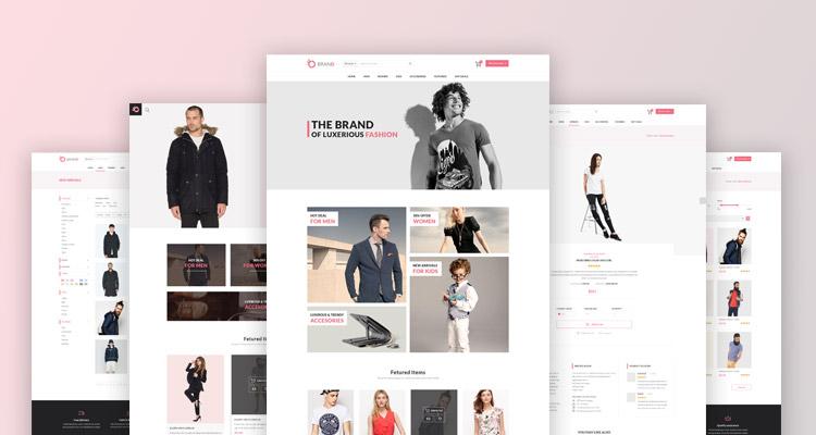 Brand fashion store template 2 trendy theme brandfashion store template 2 maxwellsz