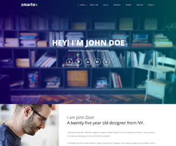 Smartex HTML Resume Template