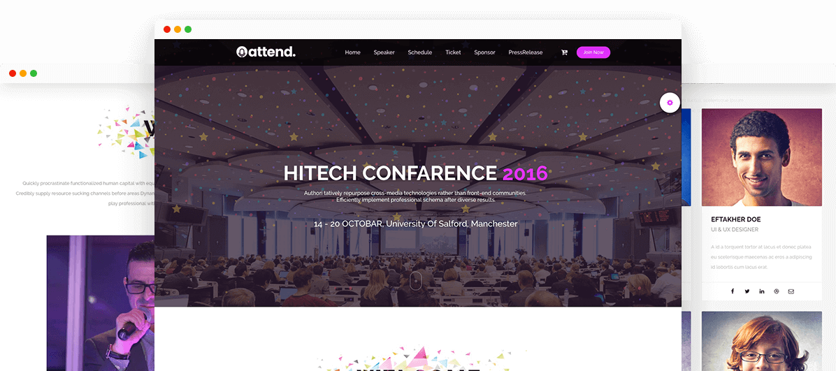 Conference & Event Template