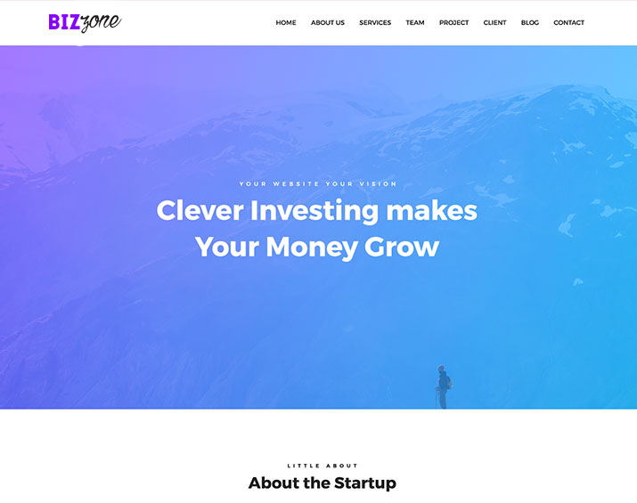 Business Zone – Corporate WordPress Theme